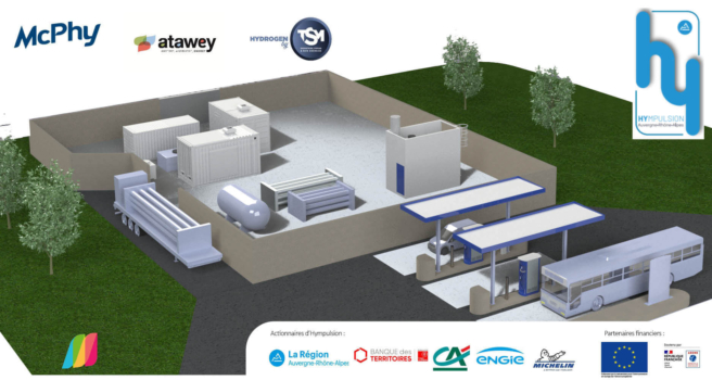McPhy to equip French hydrogen project