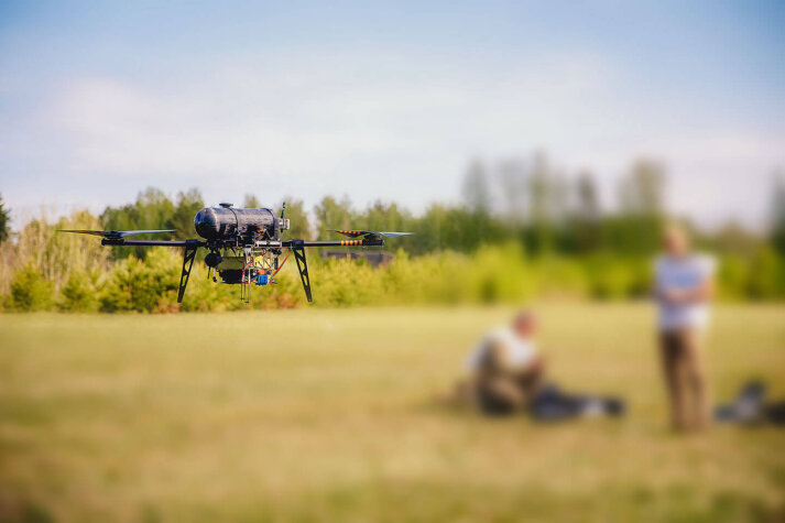 Hydrogen-powered drones to be equipped with AI Clearing technology