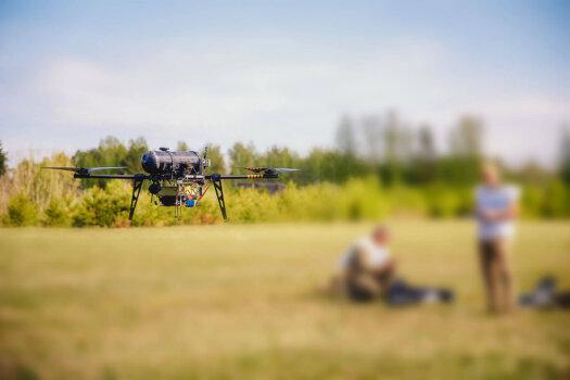 Hydrogen-powered drone achieves high performance through test flights