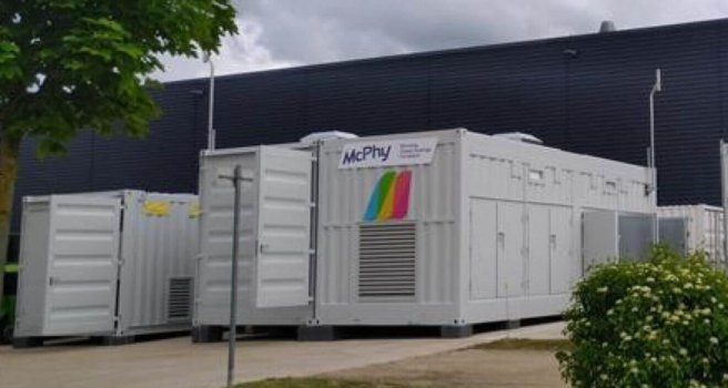 Apex inaugurates green hydrogen production plant, equipped with McPhy technology