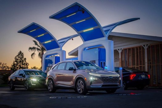 California's largest capacity hydrogen station opens for business