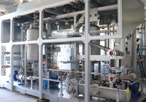 Key component installed at pioneering hydrogen park