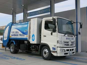 Tokyo to test fuel cell garbage truck