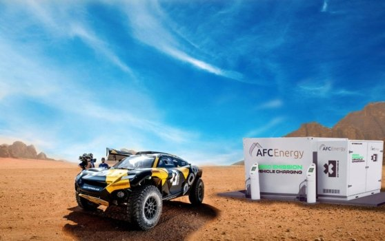 AFC Energy partners with Extreme E to power first electric rally series with hydrogen