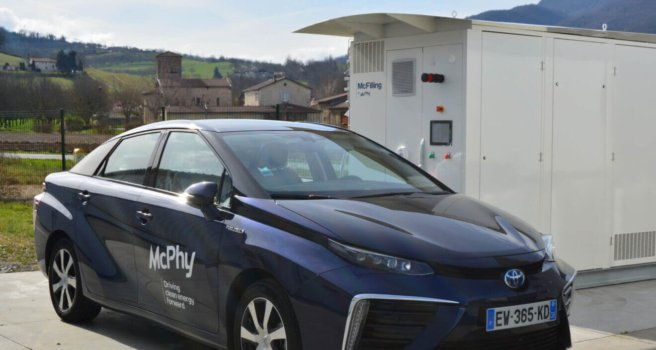 McPhy selected to equip new hydrogen station