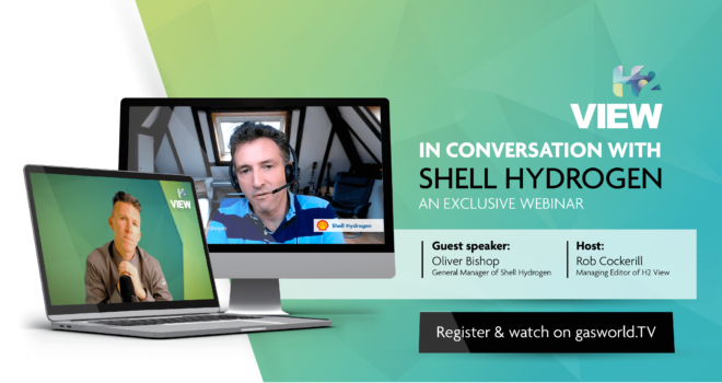 Exclusive webinar: H2 View in conversation with Shell Hydrogen