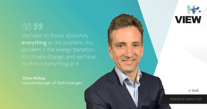 Shell exclusive: We have to throw everything at hydrogen