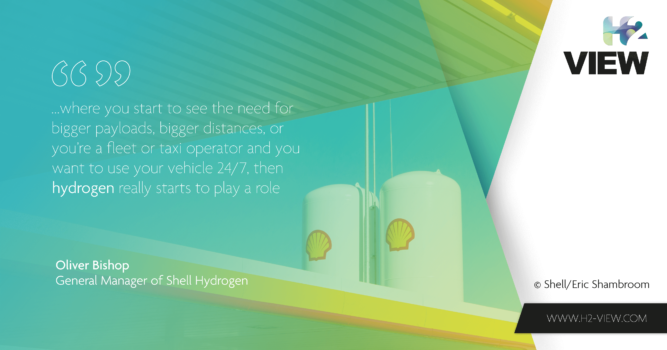 By rail, road or sea: Why Shell is adamant about hydrogen mobility