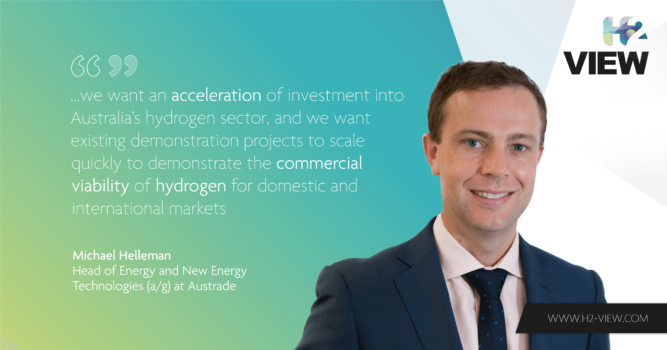 Austrade: Australia is well placed to be a major hydrogen producer