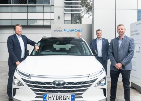 Coregas and Hyundai Australia celebrate five-year partnership