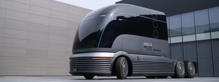 Hyundai's hydrogen truck wins award