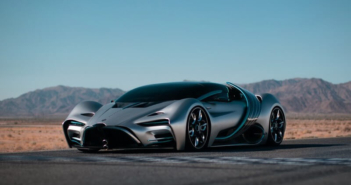 Hyperion debuts hydrogen-electric supercar