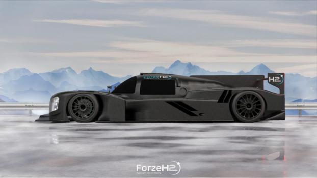TU Delft unveils hydrogen racing car
