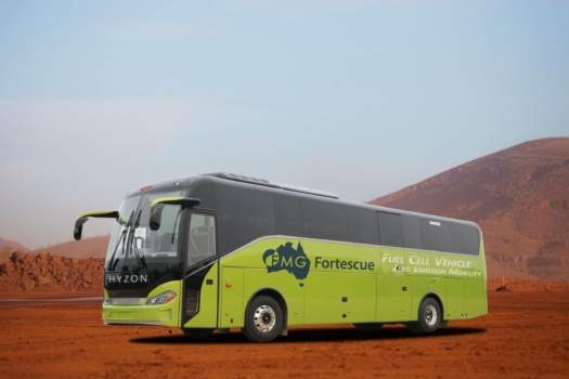 Fortescue to deploy hydrogen coaches