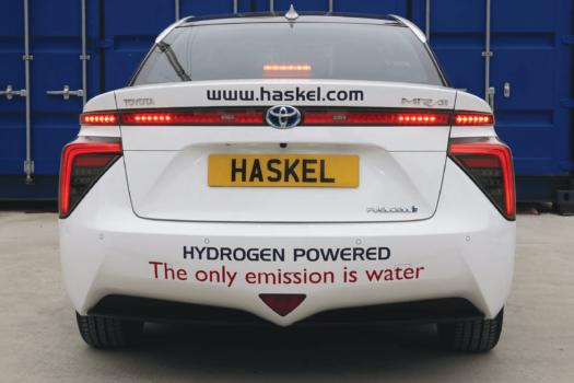 Haskel adds Toyota Mirai to company fleet