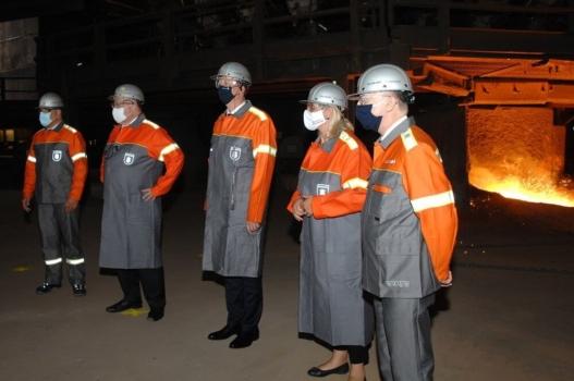 Hydrogen-based steel production starts at Dillinger