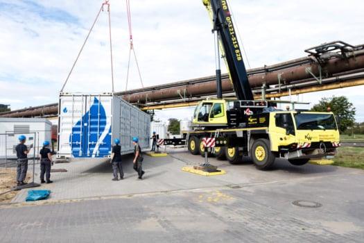 "Salzgitter Flachstahl receives ""world's most powerful"" electrolyser"