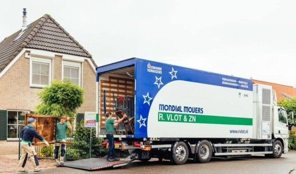 Removal company completes hydrogen assisted move