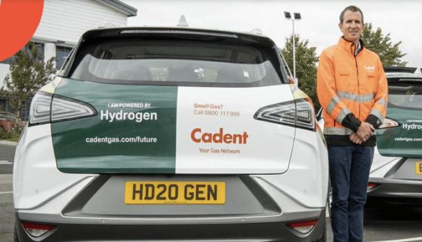 Cadent adds hydrogen vehicles to its fleet