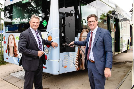 Linde and RVK unveil new hydrogen station for buses