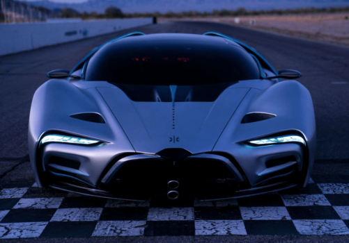 Space technology for the road: Hyperion debuts hydrogen-powered supercar