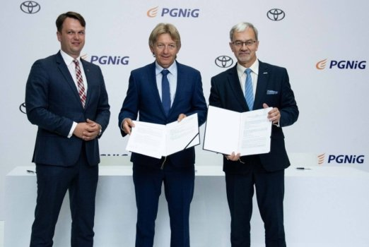 Toyota and PGNiG to advance hydrogen technologies in Poland