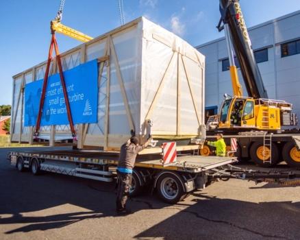 Aurelia starts to ship gas turbines