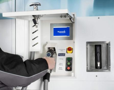 Wystrach unveils mobile hydrogen refuelling station