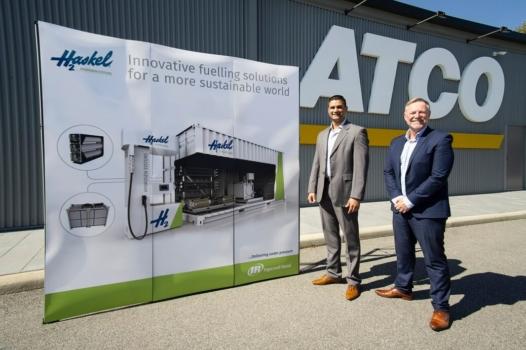 Haskel supports Australian hydrogen refuelling project