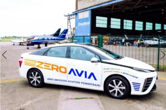 ZeroAvia receives Toyota Mirai