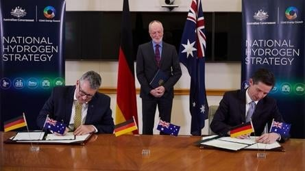 Australia-Germany deal could drive down the cost of new hydrogen technologies