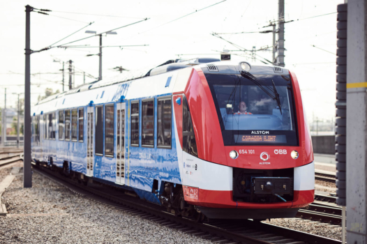 Alstom hydrogen train now operational in Austria