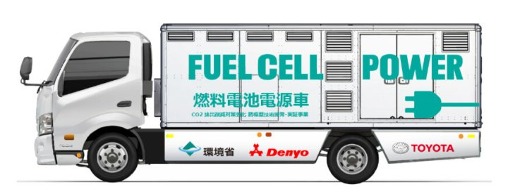 Toyota and Denyo develop fuel cell power supply vehicle