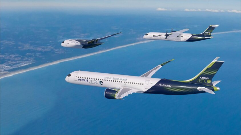 Airbus remains focused on low and zero emission commercial flights