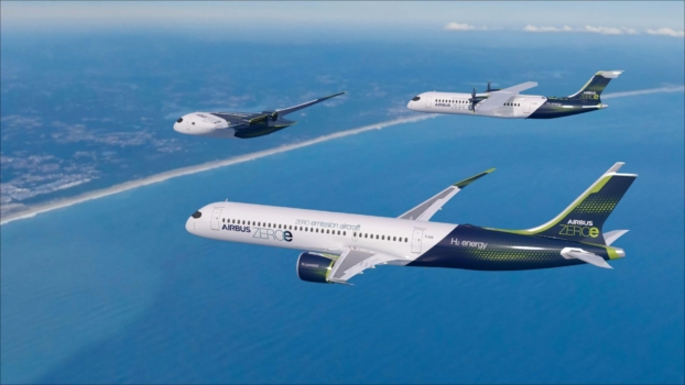 Airbus unveils three hydrogen-powered aircraft concepts