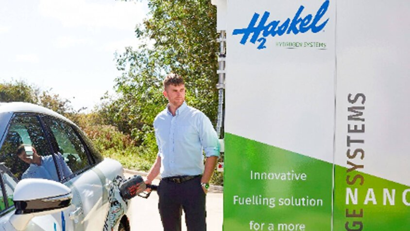 Haskel Hydrogen Systems unveils major growth plans; receives multimillion dollar investment