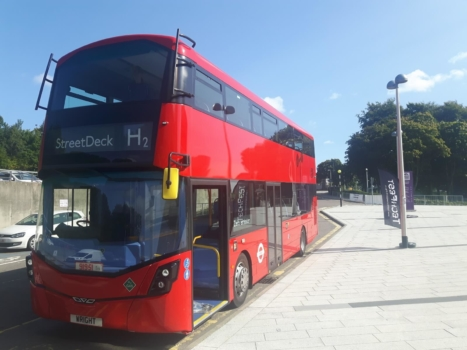 Aberdeen launching hydrogen-powered double decker buses