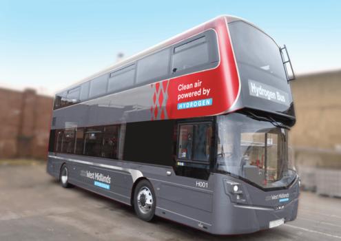 """Birmingham orders 20 hydrogen buses to """"kick-start"""" hydrogen market"""