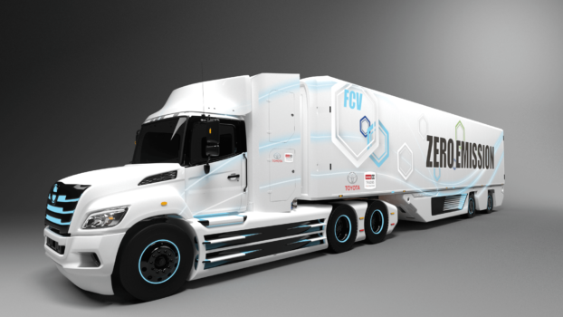 Toyota and Hino to develop fuel cell trucks for the North American market