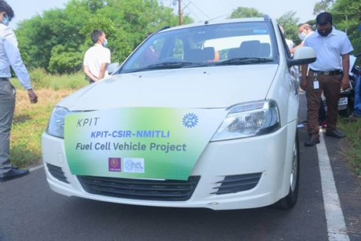 India's first hydrogen-powered vehicle completes trials