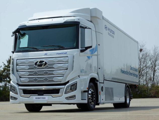 Hyundai's Swiss XCIENT fuel cell fleet surpasses one million kilometres