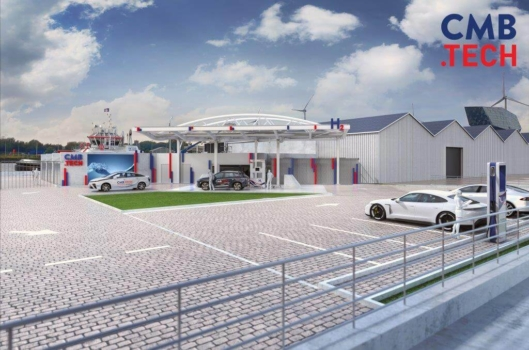 Construction begins on Antwerp's first hydrogen station