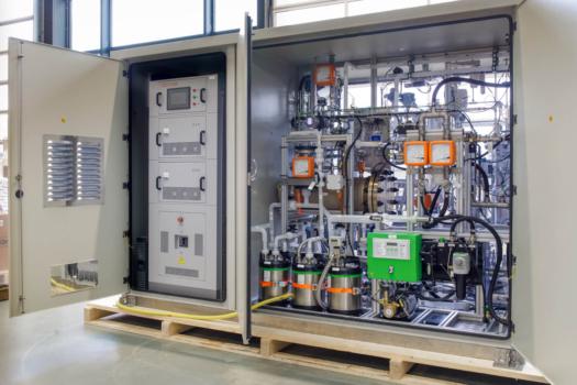 Frames integrates electrolyser into Plug Power GenFuel unit