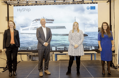 Project building hydrogen-powered cargo ship boosted by €8m