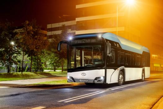 Paris trials hydrogen buses
