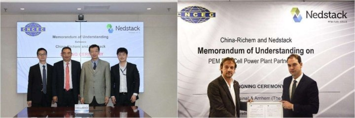 CHINA-Richem and Nedstack partner to commercialise PEM fuel cell power plant technology