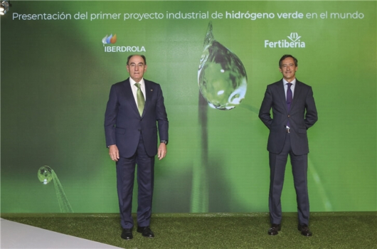 Iberdrola and Fertiberia to place Spain at the forefront of green hydrogen with €1.8bn investment