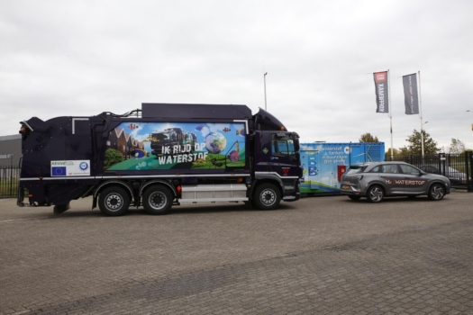 Hydrogen refuse truck now operational in the Netherlands
