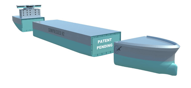 GEV hires engineering and design firms for compressed hydrogen ship