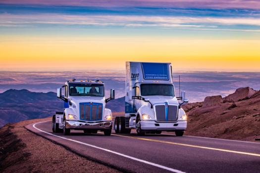 Kenworth hydrogen-powered truck achieves landmark milestone